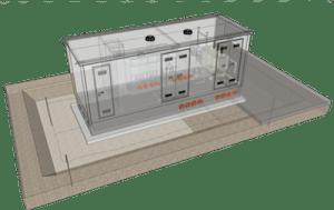 Cabina-Monoblocco